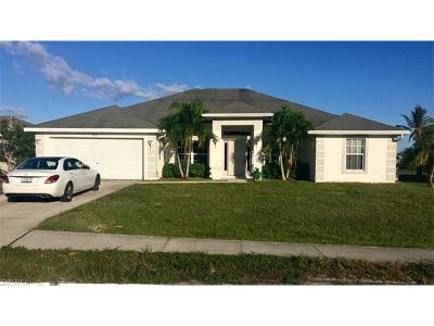 Cape Coral Single Family Home For Sale: 3925 Agualinda Blvd