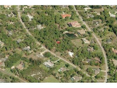 Naples Residential Lots & Land For Sale: 590 Carica Rd
