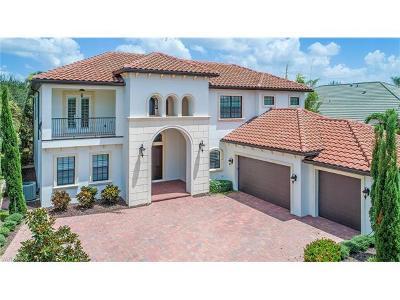 Fort Myers Single Family Home For Sale: 9641 Monteverdi Way