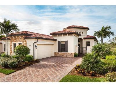 Naples Single Family Home For Sale: 9301 Vercelli Ct