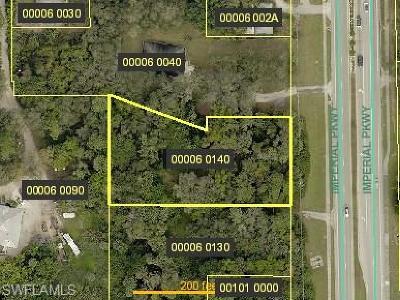 Bonita Springs Residential Lots & Land For Sale: 27090 Imperial Pky