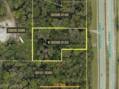 Bonita Springs Residential Lots & Land For Sale: 27100 Imperial Pky