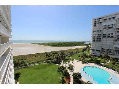 Marco Island Condo/Townhouse For Sale: 260 Seaview Ct #808