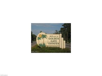 Naples Residential Lots & Land For Sale: 3896 SW 27th Ave