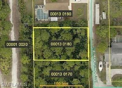 Bonita Springs Residential Lots & Land For Sale: 23112 El Dorado Ave