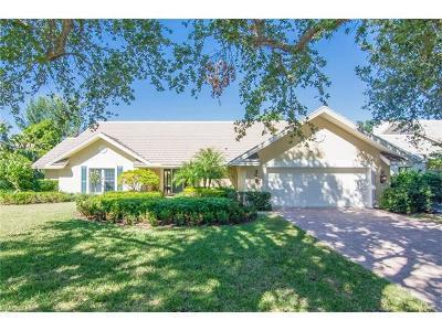 Naples Single Family Home For Sale: 811 Buttonbush Ln