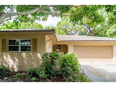 Naples Single Family Home For Sale: 1366 Diana Ave