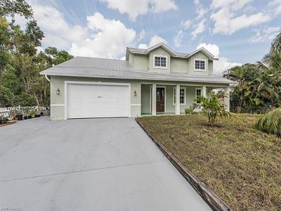 Fort Myers Single Family Home For Sale: 8295 Robin Rd
