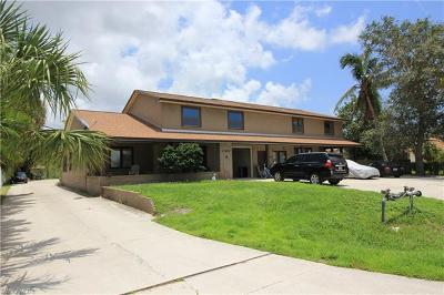 Fort Myers Multi Family Home For Sale: 17425-1742 W Carnegie Cir