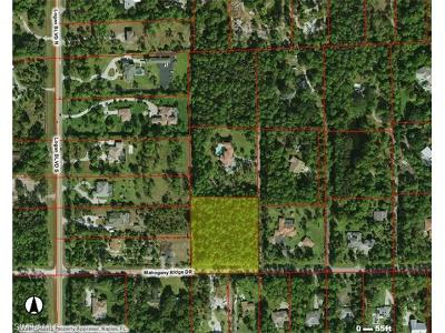 Naples Residential Lots & Land For Sale: 5381 Mahogany Ridge Dr