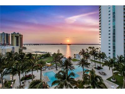 Fort Myers Condo/Townhouse For Sale: 3000 Oasis Grand Blvd #2402