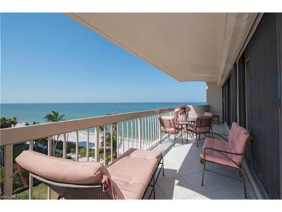 Naples Condo/Townhouse For Sale: 4005 N Gulf Shore Blvd #606