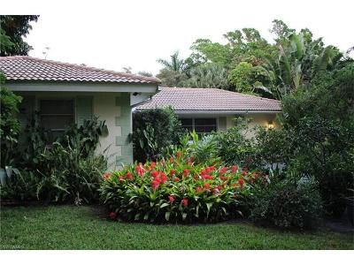 Naples Single Family Home For Sale: 1800 Tiller Ter
