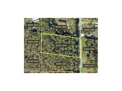Bonita Springs Residential Lots & Land For Sale: 24300 Golden Eagle Ln