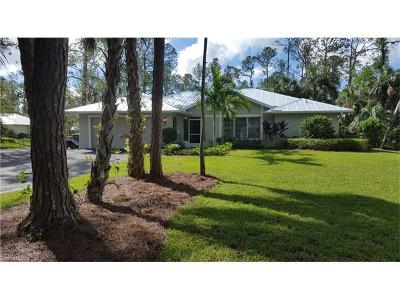 Naples Single Family Home For Sale: 4460 SW 3rd Ave