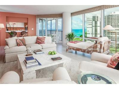 Naples Condo/Townhouse For Sale: 4651 N Gulf Shore Blvd #1107