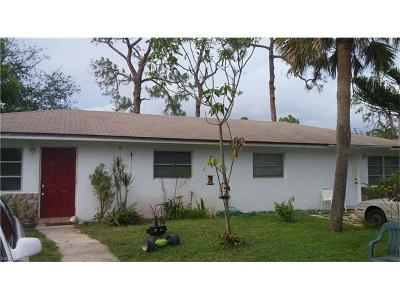 Naples Multi Family Home For Sale: 4109 Mindi Ave