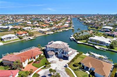 Marco Island Single Family Home For Sale: 809 Amazon Ct