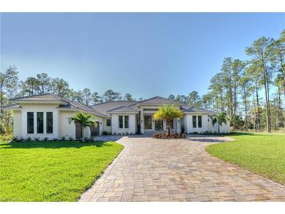 Naples Single Family Home For Sale: 4525 Club Estates Dr