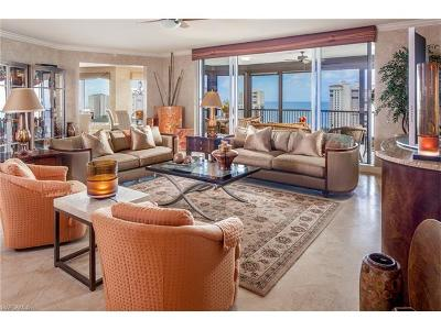 Naples Condo/Townhouse For Sale: 8787 Bay Colony Dr #1702
