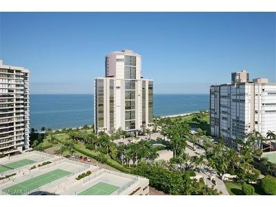 Naples Condo/Townhouse For Sale: 4351 N Gulf Shore Blvd #PH-5