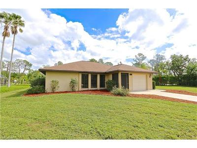 Bonita Springs Single Family Home For Sale: 25572 Fenner Cir