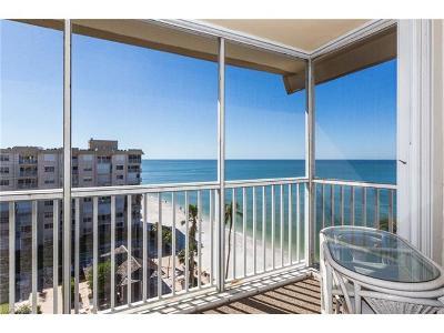 Condo/Townhouse For Sale: 3443 N Gulf Shore Blvd #803