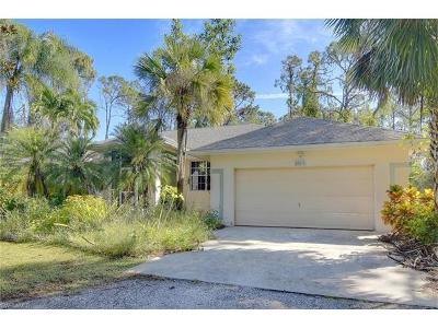 Bonita Springs Single Family Home For Sale: 25211 Pinson Dr