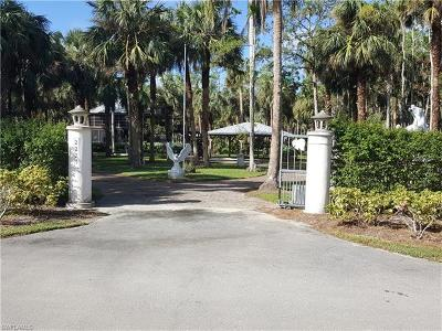 Naples Single Family Home For Sale: 2221 Krape Rd