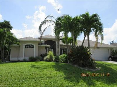 Cape Coral Single Family Home For Sale: 4909 SW 18th Ave
