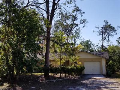 Naples FL Single Family Home For Sale: $254,900