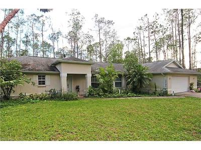 Naples Single Family Home For Sale: 3330 NW 3rd Ave