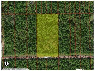 Naples Residential Lots & Land For Sale: NE 16th Ave