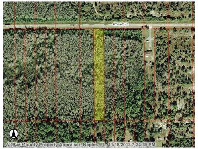 Naples Residential Lots & Land For Sale: Xxxx NE 47th Ave