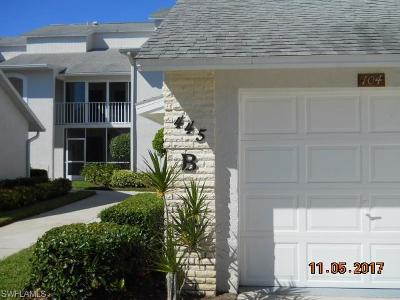 Naples Condo/Townhouse For Sale: 445 Country Hollow Ct #B106