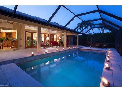 Naples Single Family Home For Sale: 3636 Crayton Rd