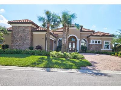 Naples Single Family Home For Sale: 8672 Cavano St