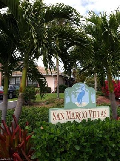 Marco Island Single Family Home For Sale: 20 Via Marco #A-6
