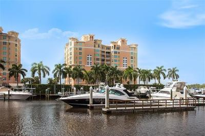 Naples Condo/Townhouse For Sale: 445 Dockside Dr #204