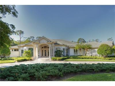 Naples Single Family Home For Sale: 4485 Brynwood Dr