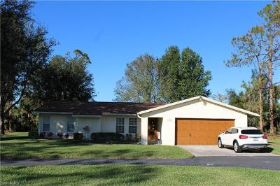 Naples Single Family Home For Sale: 3555 White Blvd