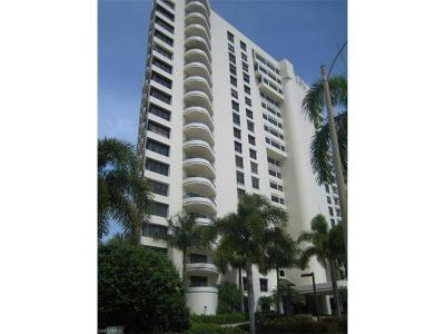 Condo/Townhouse For Sale: 4451 N Gulf Shore Blvd #605