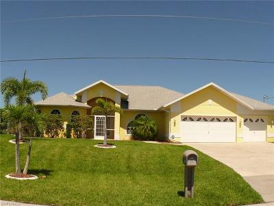 Cape Coral Single Family Home For Sale: 3710 SW 14th Pl