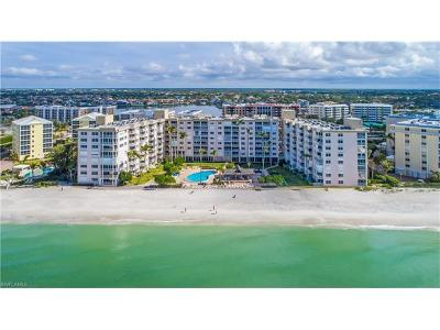 Condo/Townhouse For Sale: 3443 N Gulf Shore Blvd #615