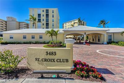 Condo/Townhouse For Sale: 3483 N Gulf Shore Blvd #104