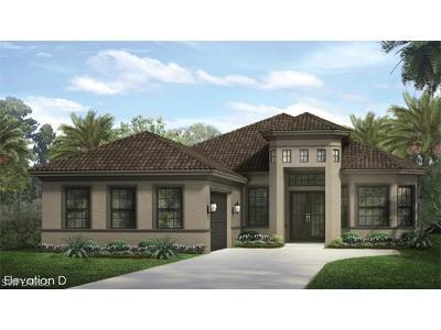 Naples Single Family Home For Sale: 1512 Mockingbird Dr