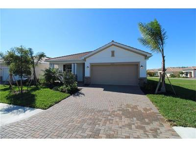 Fort Myers Single Family Home For Sale: 10240 Livorno Dr