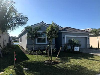 Fort Myers Single Family Home For Sale: 9575 Albero Blvd