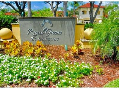 Fort Myers Condo/Townhouse For Sale: 11500 Villa Grand #320