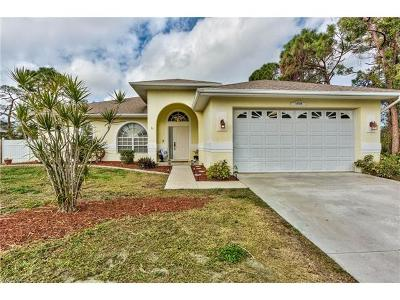 Fort Myers Single Family Home For Sale: 18258 Fuchsia Rd